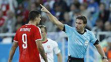 Übers Serbien-Spiel gestolpert: Fifa schickt Brych nach Hause