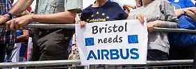 Brexit ohne Nachfolgeabkommen: Airbus beklagt britische Planlosigkeit