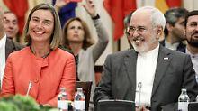 Irans Außenminister Sarif zeigt sich zufrieden.
