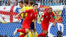 Schweden zu bieder - und raus: England köpft sich ins WM-Halbfinale