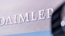 Werte bei Abgasmessungen zu hoch: Daimler stoppt Vertrieb von LKW-Motoren