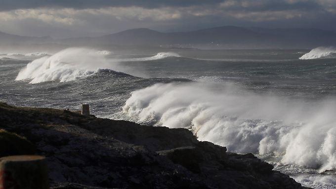 Küste vor Lugo, Galicien.
