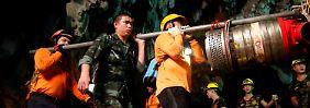 Nach geglückter Rettung: Thailändische Jungs bleiben in Quarantäne