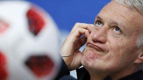 Nach Zagallo und Beckenbauer der dritte Weltmeister als Spieler und Trainer? Frankreichs Coach Deschamps.