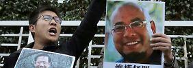 """Nach Chinas """"humanitärer Geste"""": Menschenrechtler zu langer Haft verurteilt"""