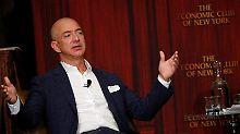 50 Milliarden mehr als Gates: Amazon-Chef Bezos definiert Reichtum neu