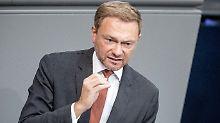 """""""Wir kämpfen genauso stark wie Erdogan"""", sagt FDP-Chef Lindner."""
