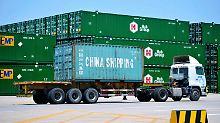 Die US-Handelskammer in China lehnt die Strafzölle auf chinesische Importe ab.