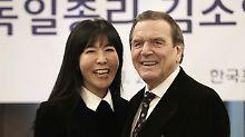 Aller guten Dinge sind ... 5!: Schröder heiratete seine Kim in Seoul