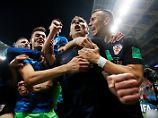 England verliert in Verlängerung: Mandzukic schießt Kroatien ins erste WM-Finale