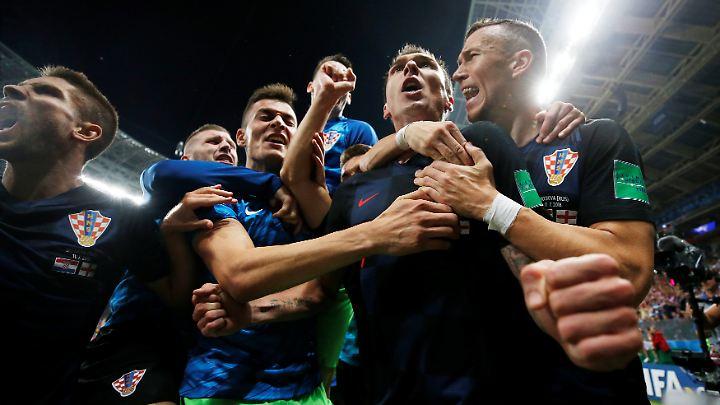 Historische Erlösung in der Verlängerung: Kroatien erreicht erstmals das WM-Finale.