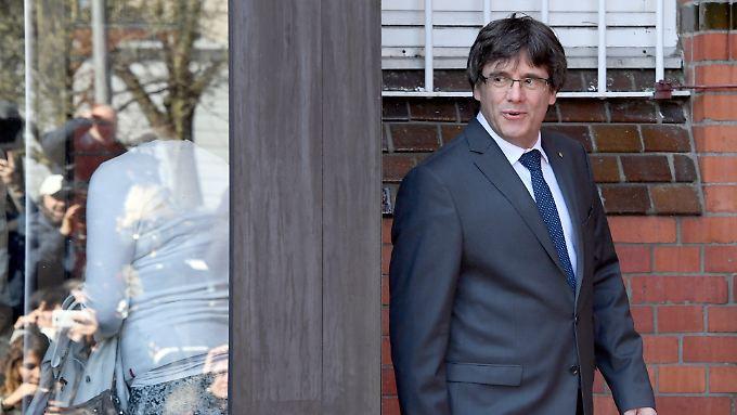 Darf wegen der Veruntreuung von Staatsgeldern ausgeliefert werden: Carles Puigdemont.