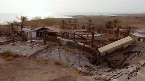Wasserknappheit im Nahen Osten: Gigantische Pipeline soll Totes Meer retten