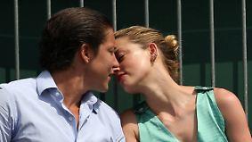 Promi-News des Tages: Heard und Schnabel knutschen in Wimbledon
