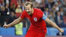 Jetzt will Harry Kane zumindest erfolgreichster Torschütze der WM werden.