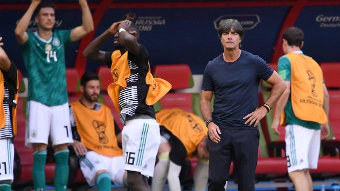 Ratlosigkeit prägte die WM bei den deutschen Nationalspielern und bei Bundestrainer Joachim Löw.