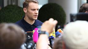 """Manuel Neuer brachte es auf den Punkt: """"Selbst wenn wir jetzt weitergekommen wären, hätte jeder gerne gegen uns gespielt."""""""