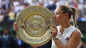 """""""Habe wieder von Null angefangen"""": Kerber krönt sich zur Wimbledon-Queen"""