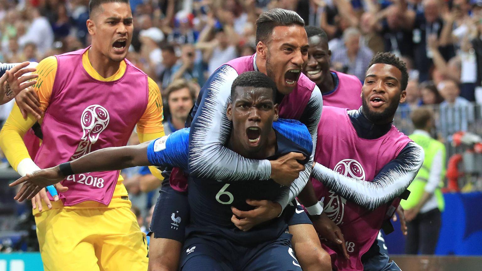 Torflut Im Wm Finale Frankreich Ist Fussball Weltmeister