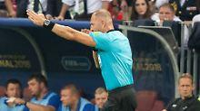 Kroaten toben, Spieler lästern: Warum der Final-Elfmeter berechtigt war