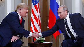 """Heikles Treffen in Helsinki: Trump will an """"großartige Beziehung"""" zu Putin anknüpfen"""