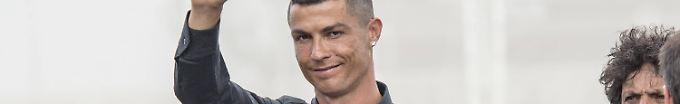Der Sport-Tag: 13:04 Nach Präsentation bei Juve: Ronaldo verlässt Italien