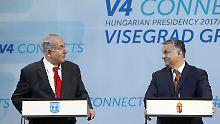 Viktor Orban in Israel: Netanjahu empfängt einen schwierigen Gast
