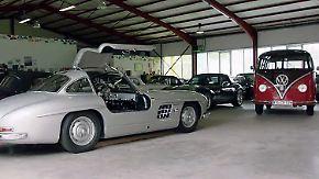 Vom Ferrari-Dino bis zum VW Bulli: Mit einem hessischen Oldtimer-Enthusiasten auf Tour