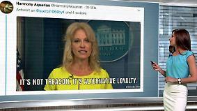 n-tv Netzreporterin: Niemand glaubt @realDonaldTrump die Rolle rückwärts