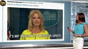 n-tv Netzreporterin: Niemand glaubt @realDonaldTrumps Rolle rückwärts