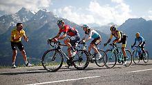 Der Sport-Tag: Tour-Königsetappe nach Alpe d'Huez - das wird wichtig