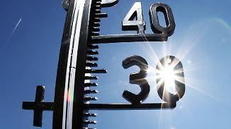 Erste Gewitter am Abend: Temperaturen peilen neuen Hitzerekord an