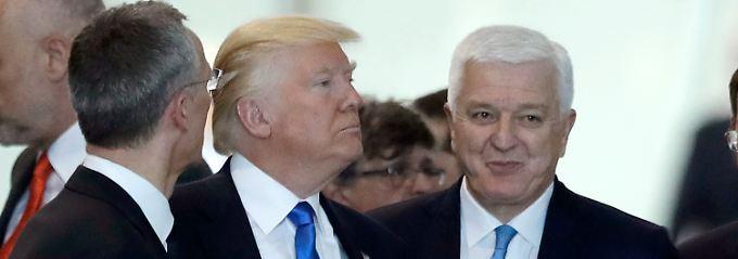 """""""Tragen zum Frieden bei"""": Montenegro kontert Trumps Verbalattacken"""