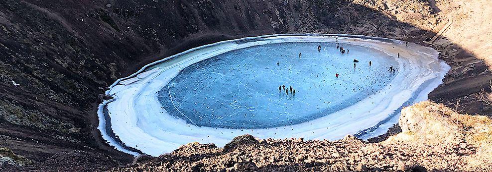 Das Bild von Platz drei entstand in Island und zeigt einen erloschenen Vulkan, aufgenommen von Naian Feng mit einem iPhone X.