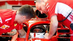 Bei Vettel ist noch Luft nach oben.