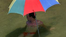 Zwischen Strandwetter und Gewitter: Sonne strahlt im Norden, Schwüle drückt im Süden