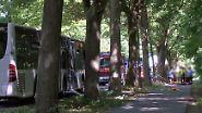 Mehrere Verletzte in Lübeck: Mann sticht in Bus auf Fahrgäste ein