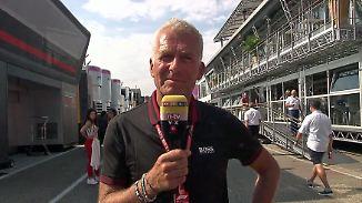 """Danner zur Formel 1 in Hockenheim: """"Unglaublich, wie schnell die neuen Autos hier sind"""""""