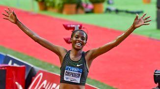 Um leichtathletische Welten schneller: Kenianerin pulverisiert Hindernis-Weltrekord