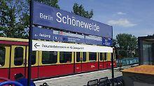 Anschlag in Berliner S-Bahnhof: Unbekannter zündet Obdachlose an