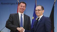 Brexit ohne Abkommen möglich: Britischer Außenminister warnt Maas und EU