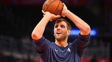 """""""Dirkules"""" verlängert Vertrag: Nowitzki stellt neuen NBA-Rekord auf"""