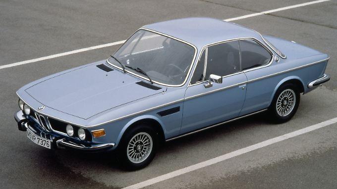 Mit italienischer Leichtigkeit gezeichnet: der BMW 3.0 CS ab 1971.