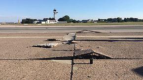 Hitze lässt Nordbahn aufplatzen: Flughafen Hannover nach Sperrung wieder startklar
