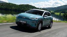 """""""Electric"""" mit großer Reichweite: Hyundai setzt kleines SUV Kona unter Strom"""