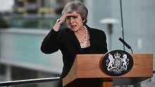 Viel Zeit bleibt Theresa May nicht mehr, um mit Großbritannien aus der EU auszutreten.