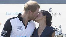Gehört sich das?: Meghan und Harry knutschen öffentlich