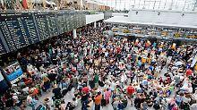Wegen verdächtiger Frau: Terminal am Münchner Flughafen geräumt