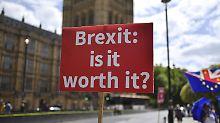 Chaos und Brexit-Reue: Hälfte der Briten will neues Votum