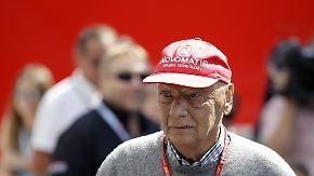 """""""Kritischer Eingriff"""": Niki Lauda bekommt neue Lunge transplantiert"""